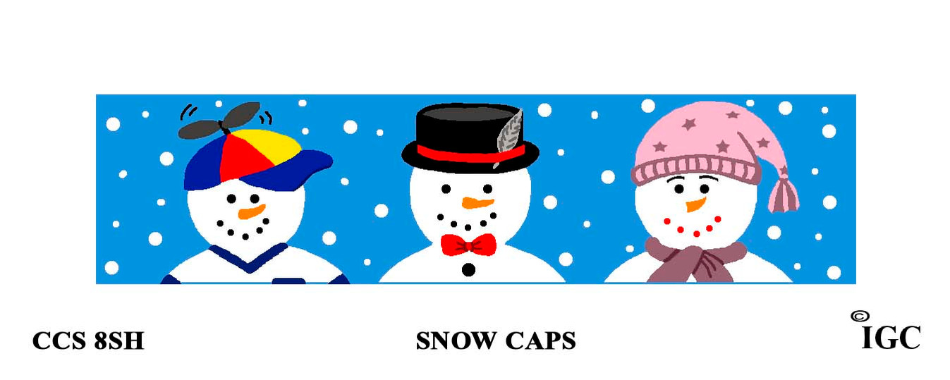 Snow Caps Candle Cozy