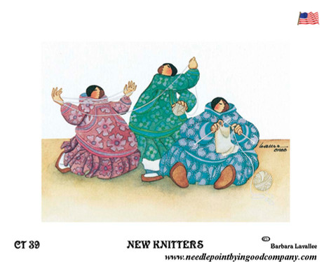 New Knitters - Barbara Lavallee