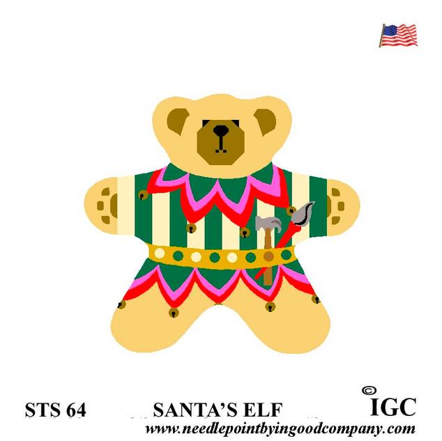 Santa's Elf Bear