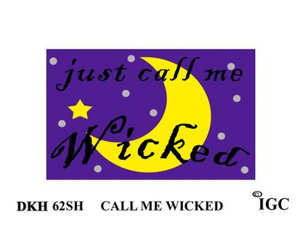 Call Me Wicked Doorknob Hanger