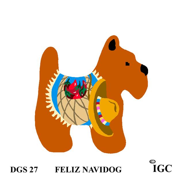 Feliz Navidog Dog