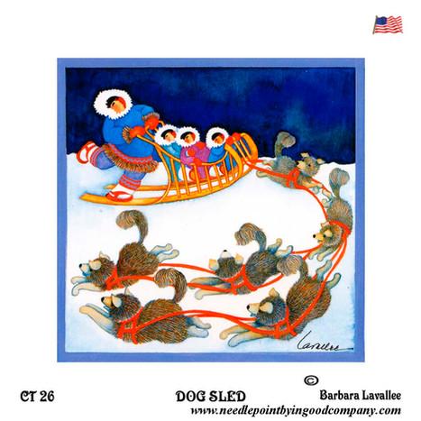 Dog Sled - Barbara Lavallee