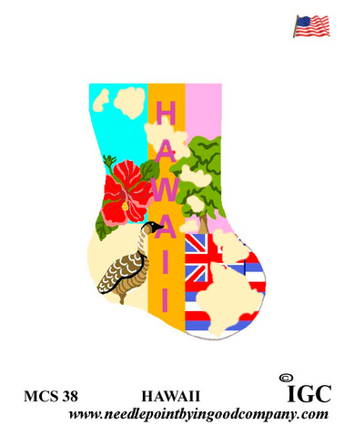 Hawaii Mini Sock