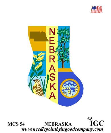 Nebraska Mini Sock