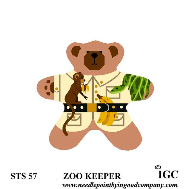 Zoo Keeper Bear
