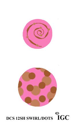 Swirl & Dots Discs