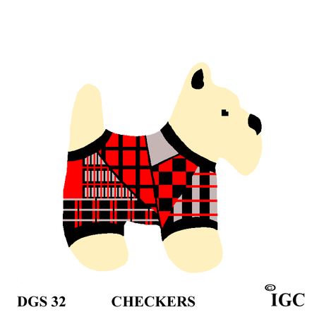 Checkers Dog