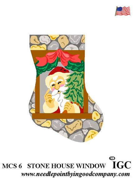 Stone House Window mini sock