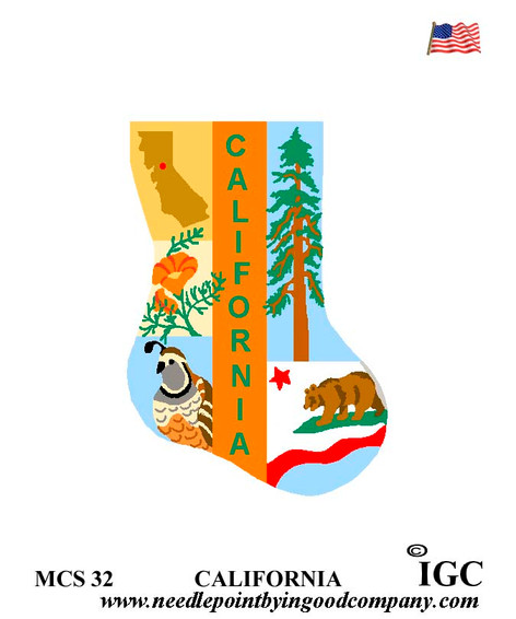 California Mini Sock