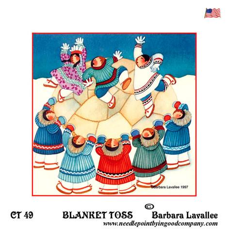 Blanket Toss / Barbara Lavallee