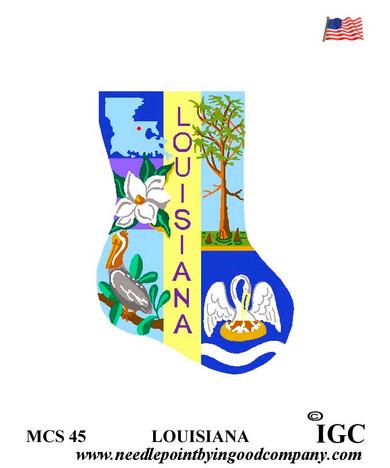 Louisiana Mini Sock