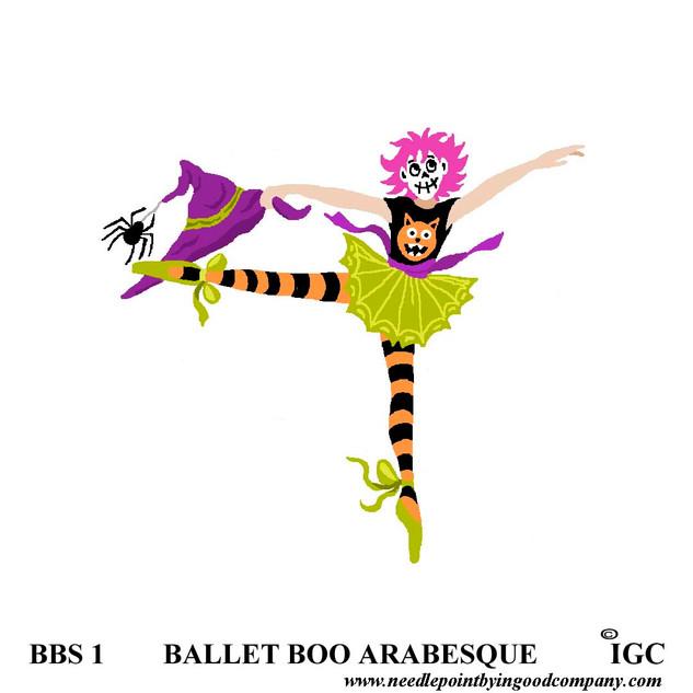 Ballet Boo Arabesque