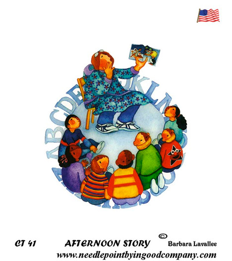 Afternoon Story - Barbara Lavallee