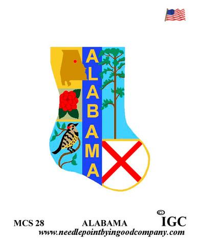 Alabama Mini Sock