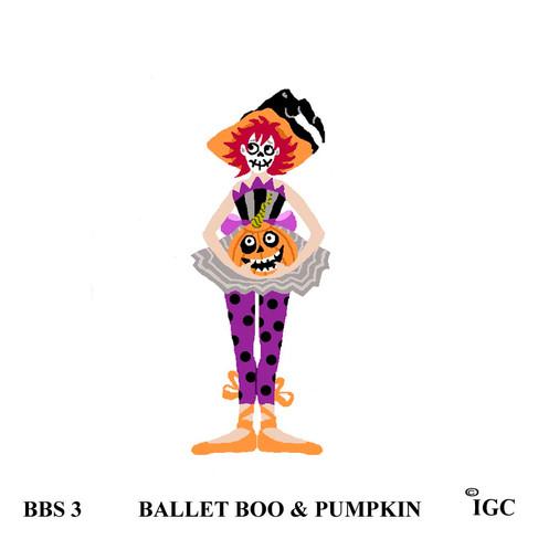 Ballet Boo & Pumpkin
