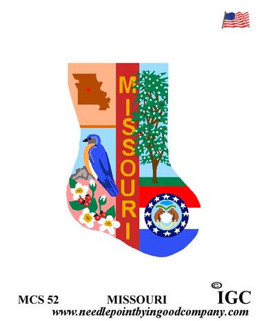 Missouri Mini Sock