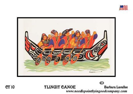 Tlingit Canoe - Barbara Lavallee