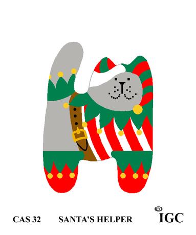 Santa's Helper Cat
