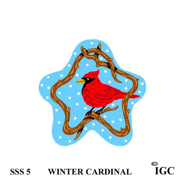 Winter Cardinal Star