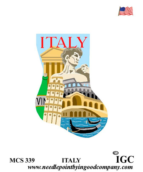 Italy mini sock