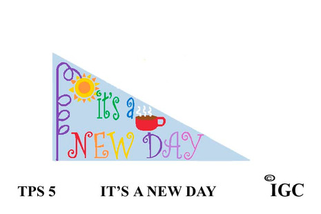 It's A New Day Pennant