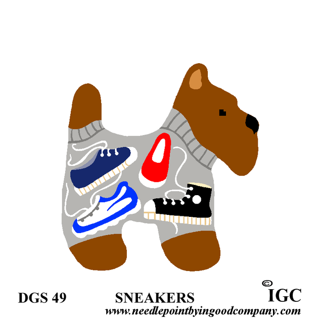 Sneakers Dog