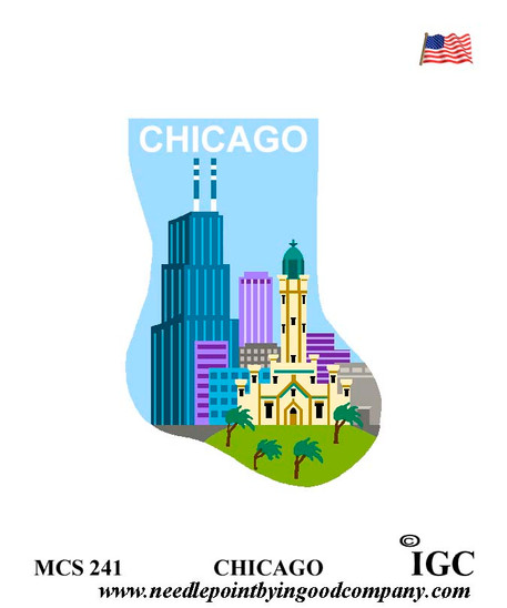 Chicago mini sock