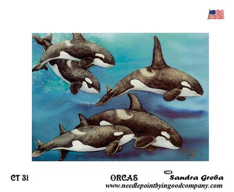 Orcas - Sandra Greba