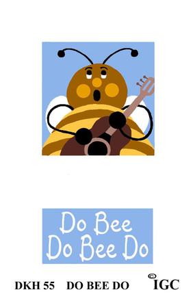Do Bee Do Bee Do Doorknob Hanger