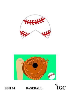 Baseball Small Birdhouse
