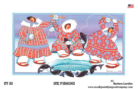 Ice Fishing Alaska / Barbara Lavallee