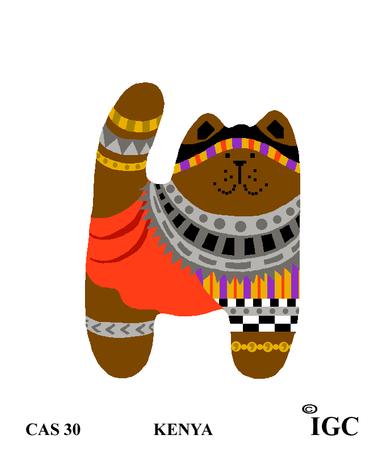 Kenya Cat