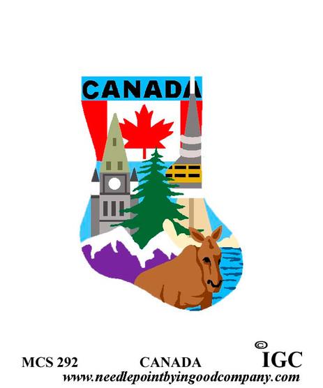 Canada mini sock