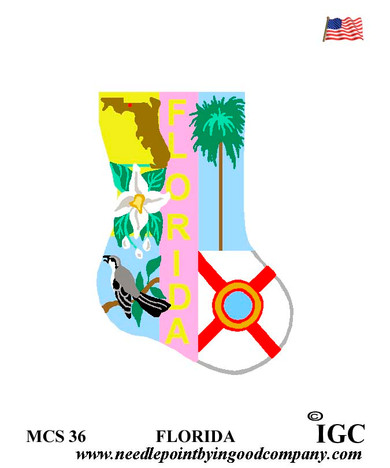 Florida Mini Sock