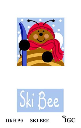 Ski Bee Doorknob Hanger