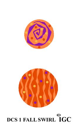 Fall Swirl Disc