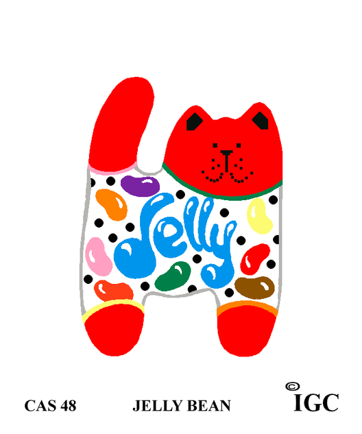 Jelly Bean Cat