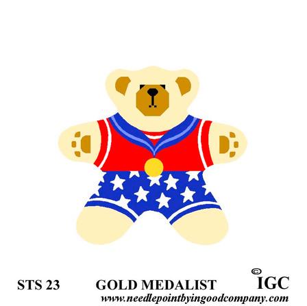 Gold Medalist Bear