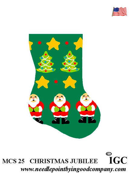 Christmas Jubilee mini sock