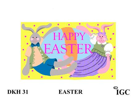 Happy Easter Doorknob Hanger