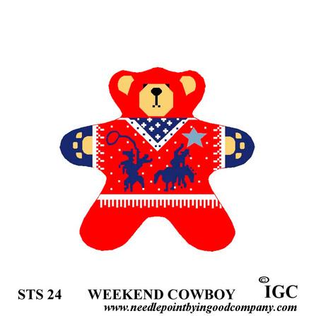 Weekend Cowboy Bear