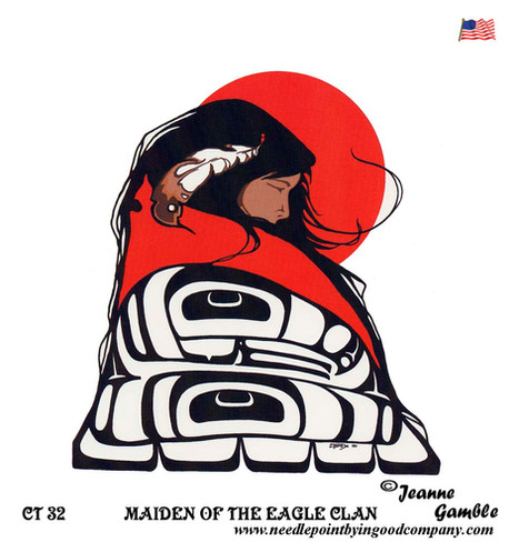 Maiden Of The Eagle Clan - Jeanne Gamble