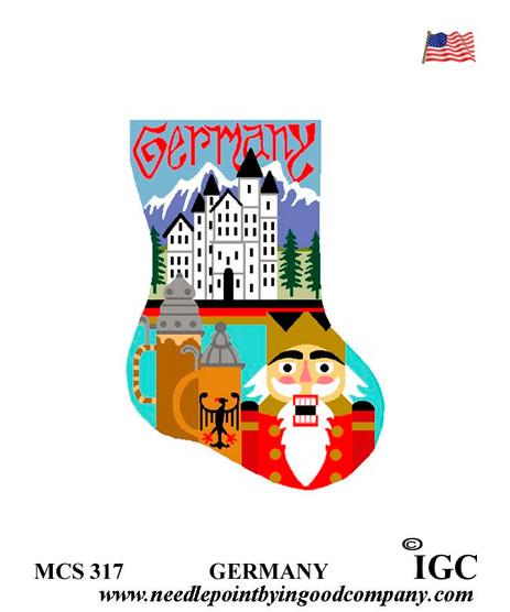 Germany mini sock