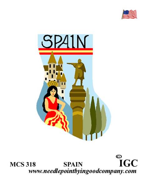 Spain mini sock
