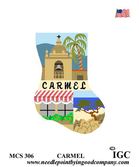 Carmel mini sock