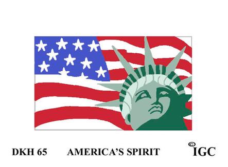 America's Spirit Doorknob Hanger