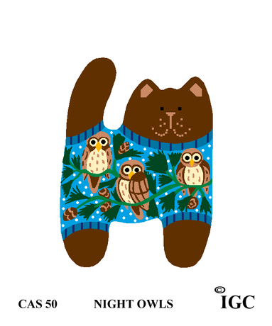 Night Owls Cat