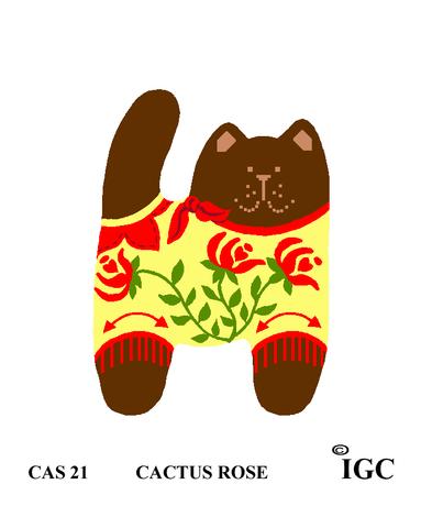 Cactus Rose Cat
