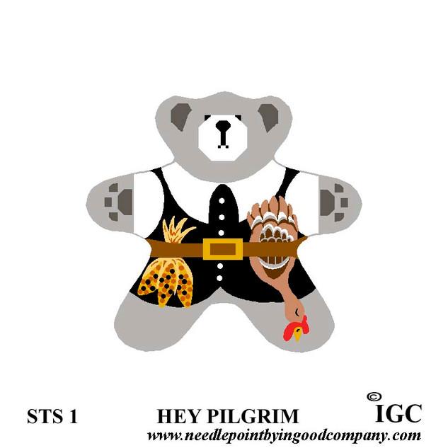 Hey Pilgrim Bear
