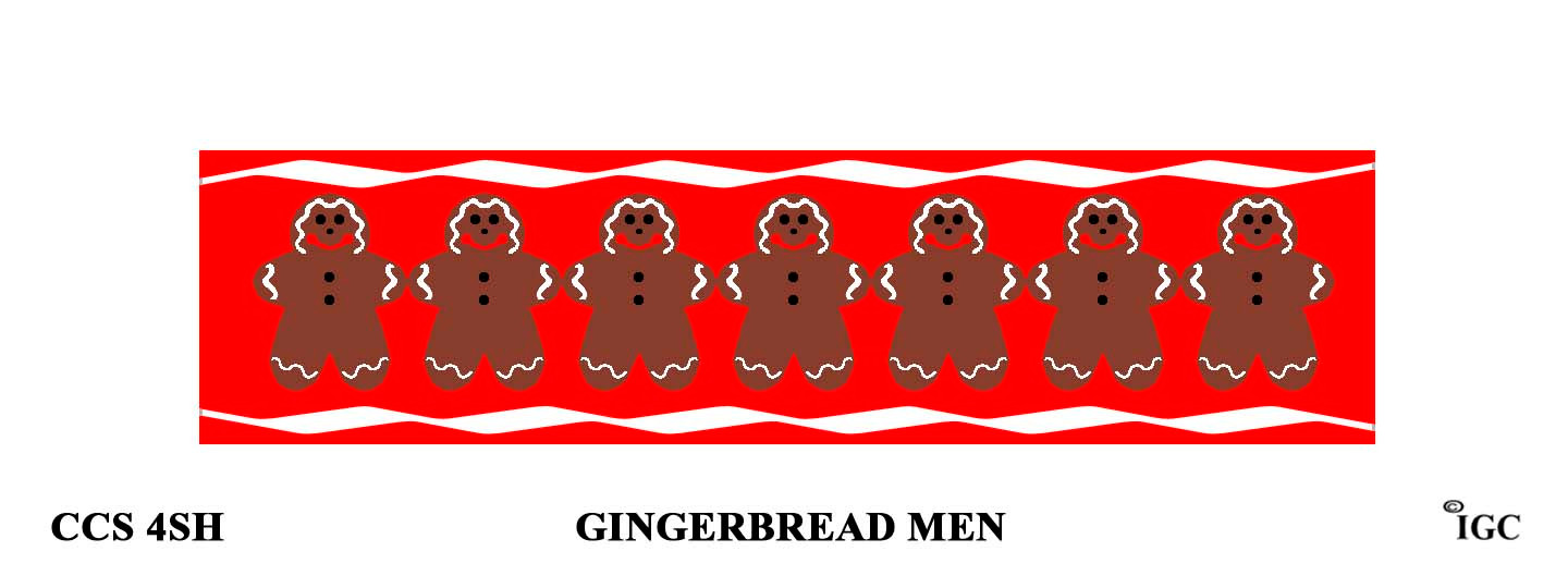 Gingerbread Men Candle Cozy